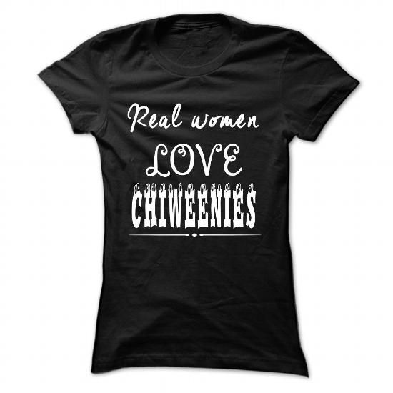 Real women love Chiweenies - #tee shirt design #earl sweatshirt hoodie. TRY  => https://www.sunfrog.com/Pets/Real-women-love-Chiweenies-Black-46990220-Ladies.html?60505