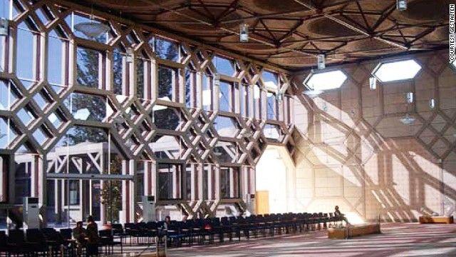 "wherearchitectureisfun: "" Islamic center in Lisbon-Aga Khan Foundation by Raj Rewal, 1998 """