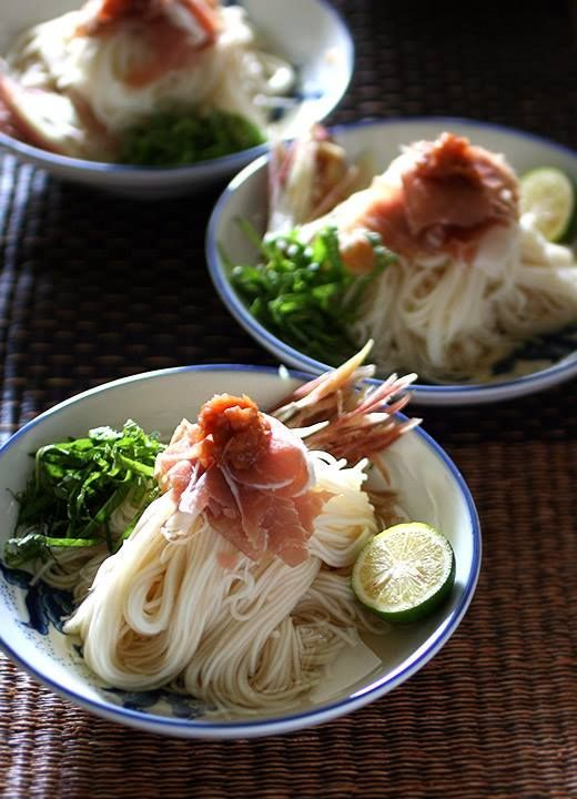Must be noodle week for us - here ya go. Somen Noodles!