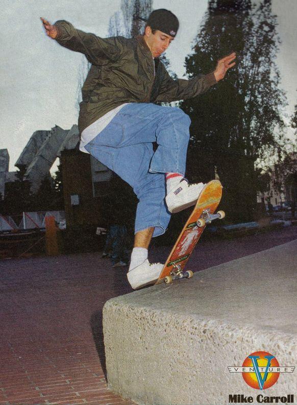 mike carrol old school skateboarding