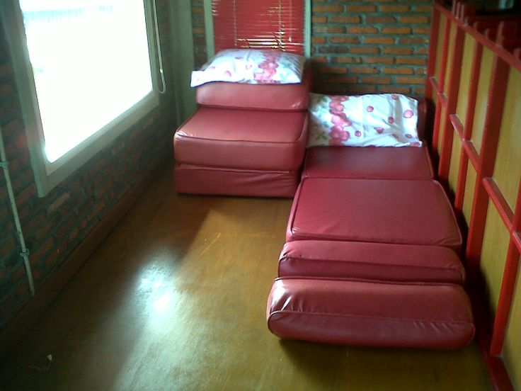sofabed on 2nd floor