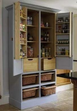 13 Easy Ways To Repurpose Antique Armoires Kitchen