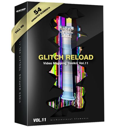 glitch video loops