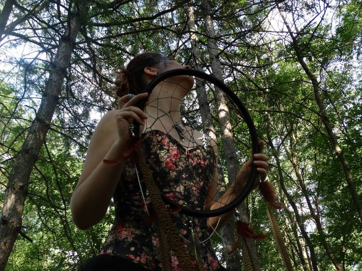 ๖ۣۜForest dreams  forest  Dreamcatcher   corset