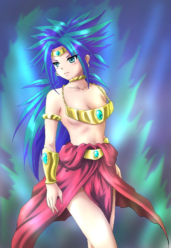 Broly's wife: Dragon Ball Z