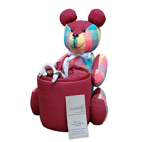 Bear Doll Tissue Holder Case (Pink) Handwoven Cotton Handmade From Thailand Lanna Handmade http://www.amazon.com/dp/B00O2X5LDM/ref=cm_sw_r_pi_dp_Dzclub1R6HK5B