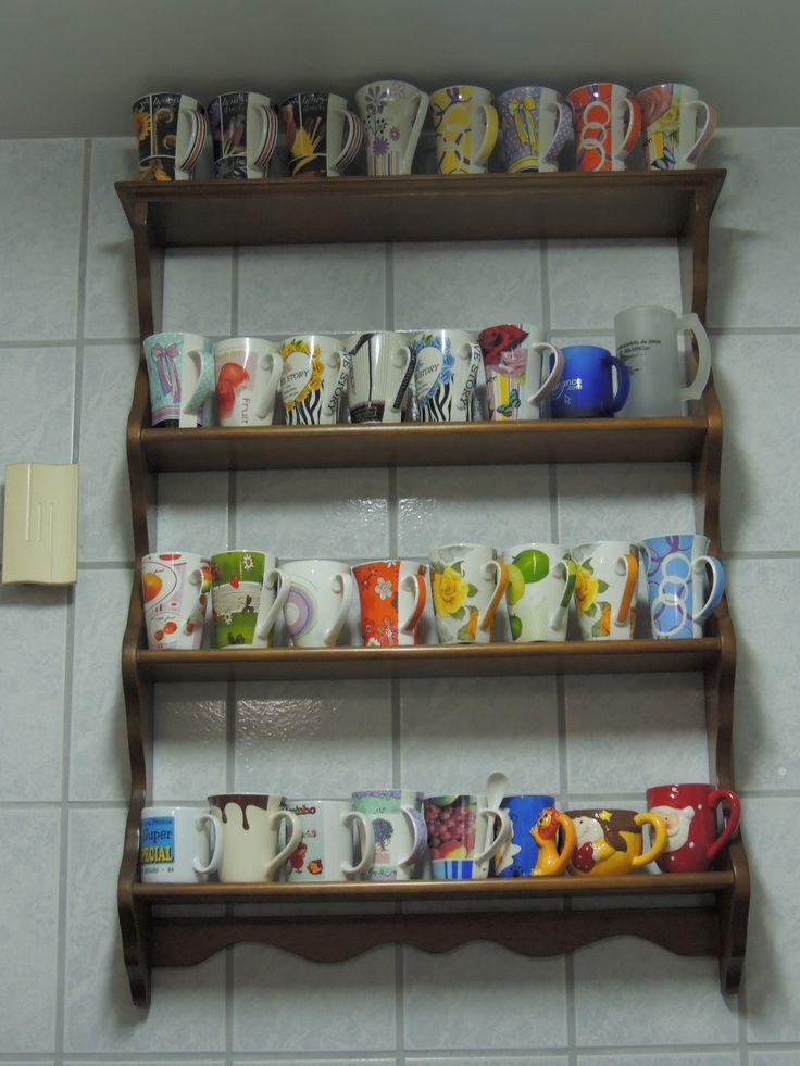 Minha coleção de canecas (Gislene Sant´anna)