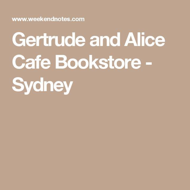 Gertrude and Alice Cafe Bookstore - Sydney