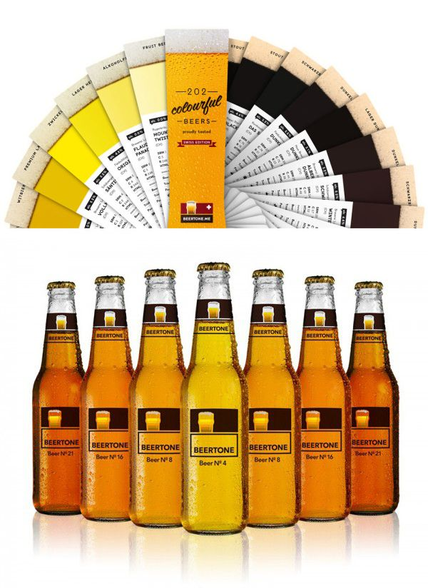Beertone: A color guide for beer lovers