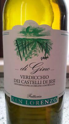 Baccanera, Viaggio nel mondo del vino: Verdicchio dei Castelli di Jesi Vigna di Gino Doc ...