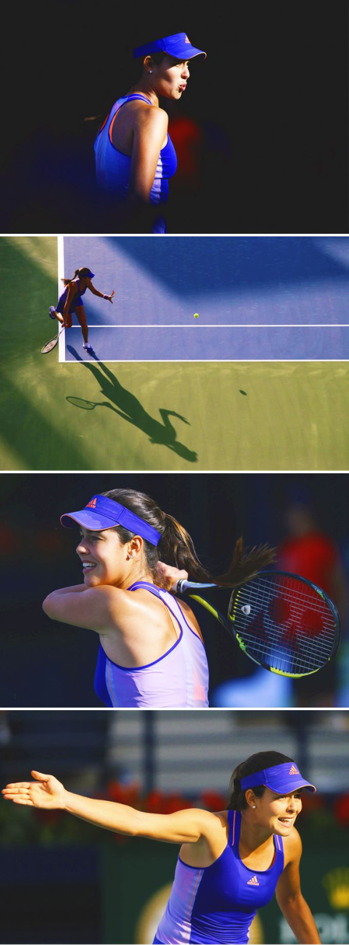 Ana Ivanovic in the adidas Spring adizero Dress - Get her gear here: http://www.tennis-warehouse.com/player.html?ccode=AIVAN