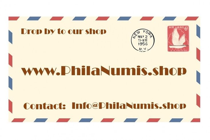 Online store selling philately, numismatic and other collectible items!
