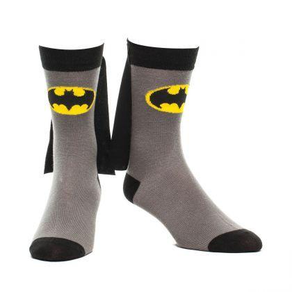 Des chaussettes Batman avec cape, juste pour le style et pour l'audace !