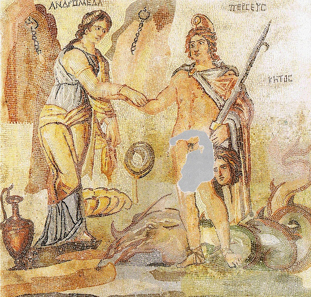 Zeugma mosaic of Persius