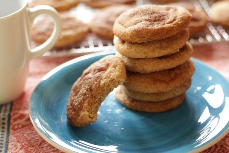 Snickerdoodles – amerikanische Zimt Cookies Rezept von Living on Cookies