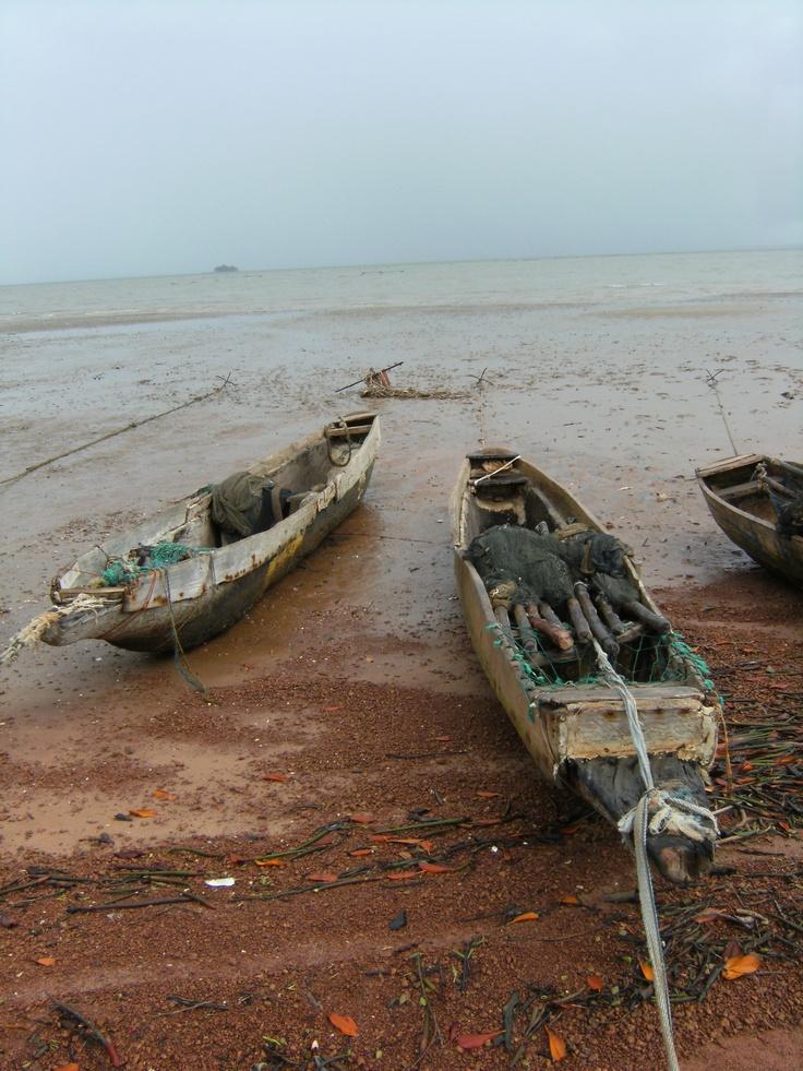 Canoes Albreda/ Juffureh. Gàmbia