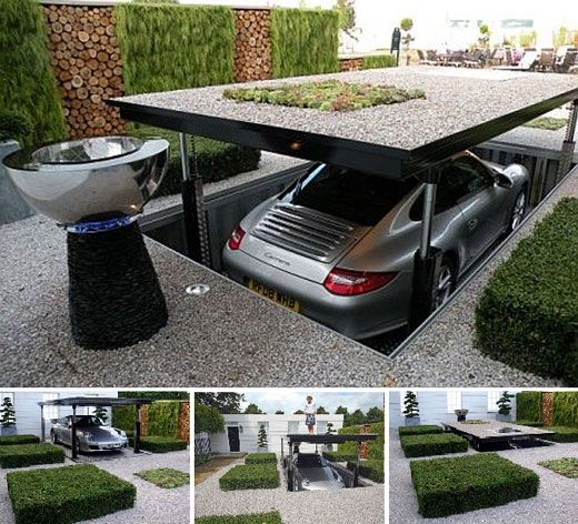 Amazing Garage Designs: Top 25+ Best Underground Garage Ideas On Pinterest