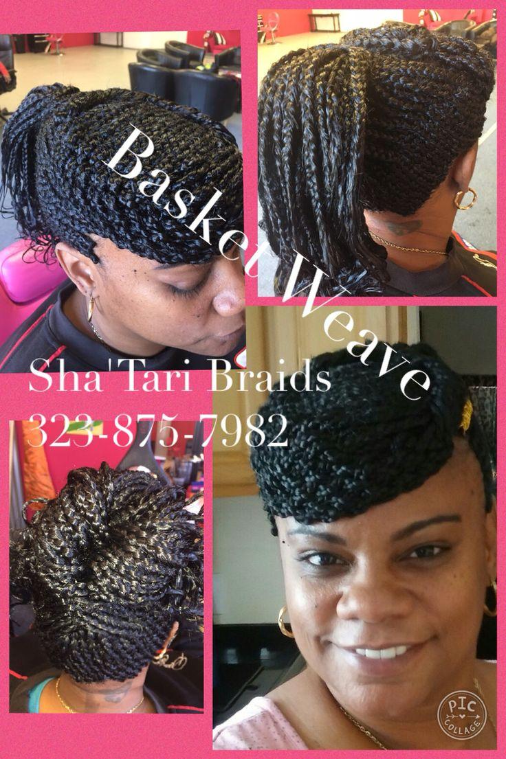 Basket Weave Braids By Sha Tari Braid Salon