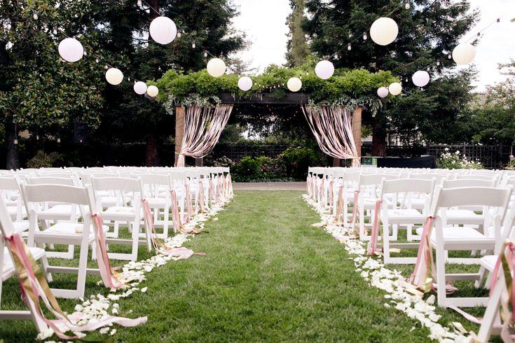 real LLD wedding: taylor   joey {backyard glam – the details}