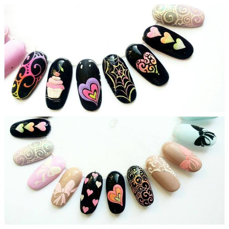 258 best Coj images on Pinterest | 3d nails, Beleza and Acrylic nail ...
