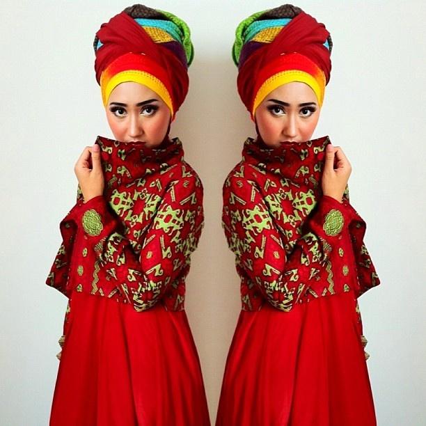 Happy #BatikDay! Wearing Dian Pelangi's batik tenun coat. Proudly made in Indonesia, by Indonesian :) - @Dian Tjandrawinata Pelangi- #webstagram