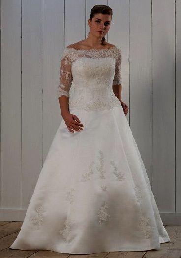 Plus Size Wedding Dress With Sleeves Wedding Dorsets Pinterest