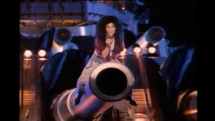 """If I Could Turn Back Time"" by Cher - an incredible comeback on her 20th album which is very impressive; apparently under the fishnet is supposed to be a ""one-piece bathing suit"" - I wonder if she ever wore it to the pool haha; the video was banned by many including MTV, although they later played it but only after 9 pm; they don't seem to censor as much anymore, unfortunately"