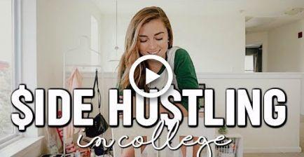 EASY SIDE HUSTLES FOR COLLEGE - #college #hustles - #nouveau