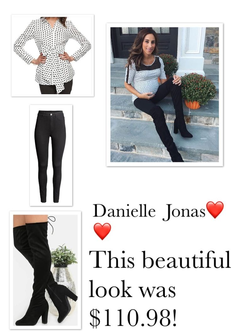 Danielle Jonas is such a doll!! Collage by me!