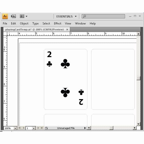 Playing Card Design Template Inspirational Learn How To Create Playing Cards In Illustrat Playing Cards Design Card Templates Printable Printable Playing Cards