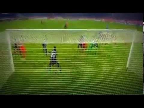 Olympiakos vs Malmo 4-2 Konstantinos Mitroglou Goal - (Champions League ...