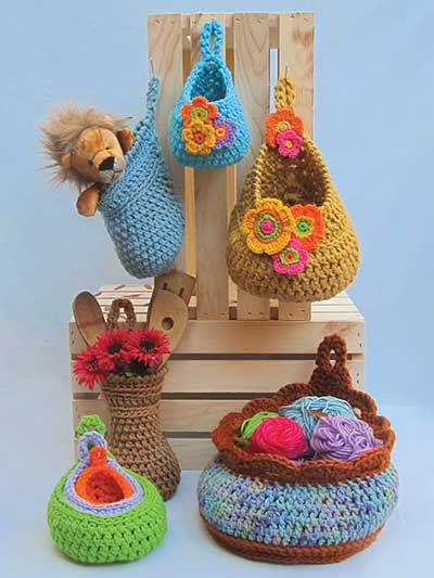 Teardrop Baskets