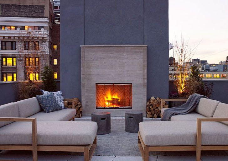 Впечатляющие современные апартаменты в нью-йоркском Soho   Пуфик - блог о дизайне интерьера