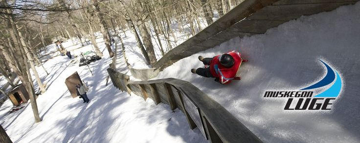 Muskegon Luge - 40 per person.  Track designed for beginners