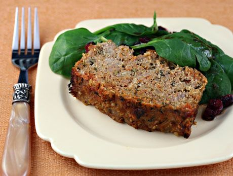 Quinoa Turkey Meatloaf. This is in my usual rotation of meals. I omit the jalapeno because I don't keep it on hand. This works great in Demarle molds for individual servings. It also freezes great!