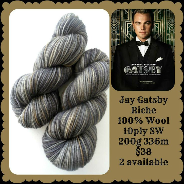 Jay Gatsby - The Great Gatsby | Red Riding Hood Yarns