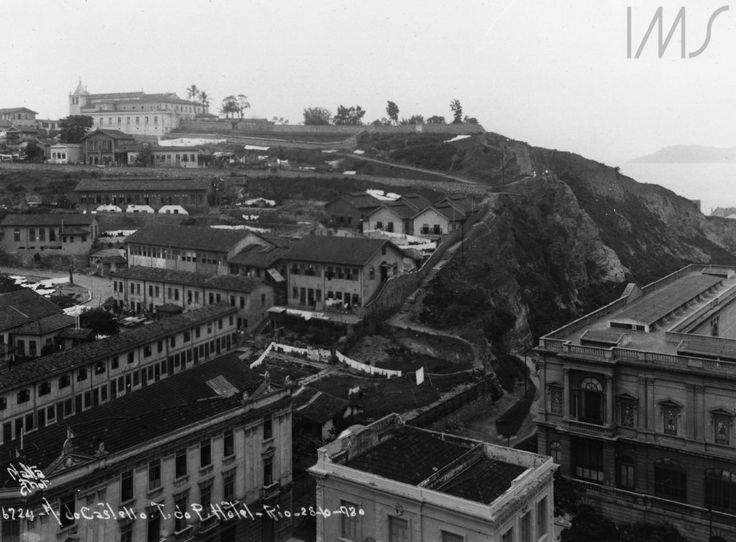 Augusto Malta - Morro do Castelo - 1920