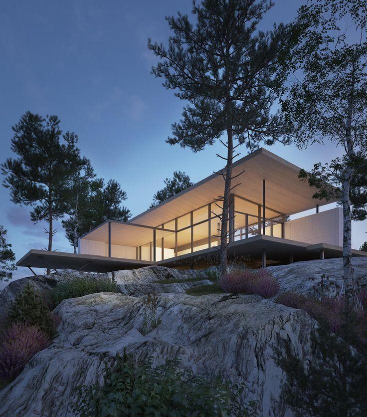 JOARC I ARCHITECTS • Holiday Villas • Villa Åskviken