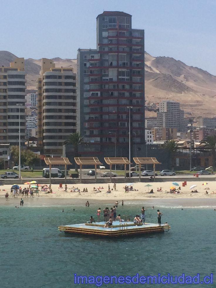 Linda tarde de Playa en el Balneario Municipal Antofagasta