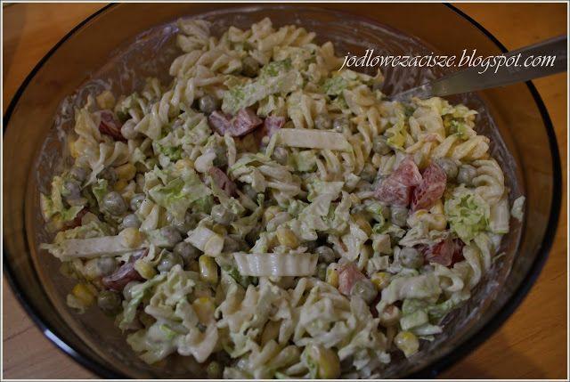 Jodłowe Zacisze: Sałatka z makaronem
