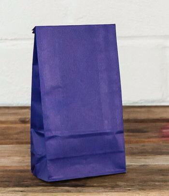 Purple lolly bag www.qualitytimepartysupplies.com.au