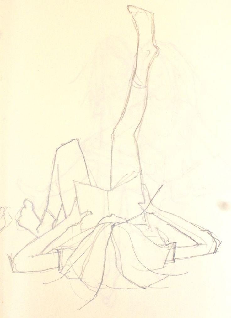 Draw: gestures | Ruth de Vos: Textile Art