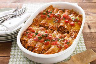 Enchiladas de pavo Receta - Comida Kraft