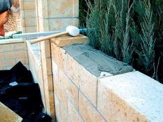 Murujeme plot z betónových tvaroviek | Tehly, tvárnice | Stavebné materiály | Stavebníctvo | www.asb.sk
