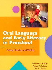 "0872075494 ""Oral Language and Early Literacy in Preschool"" Preschool educators can use this book to guide their early learners in skillfully using language to become eager learners, ready readers, and budding writers.  Preschool administrators can use this book to offer teachers professional development on building the critical oral literacy foundation young children need."