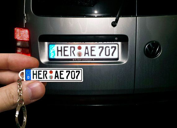 Mini copy license plate - car accessory.  High-quality printing of your license plate of any country coated with a protective varnish.  Length: 56(mm), Width: 13(mm), Height: 1.5(mm). Length: 2.2, Width: 0.51, Height: 0.059.  Materials: steel, special paint, varnish, without paper, without stickers, waterproof.  Car accessory. A unique gift idea! Handmade to order.  To order from you need a photo of your real license plate so I could make an exact copy.  If you have any question or wish…