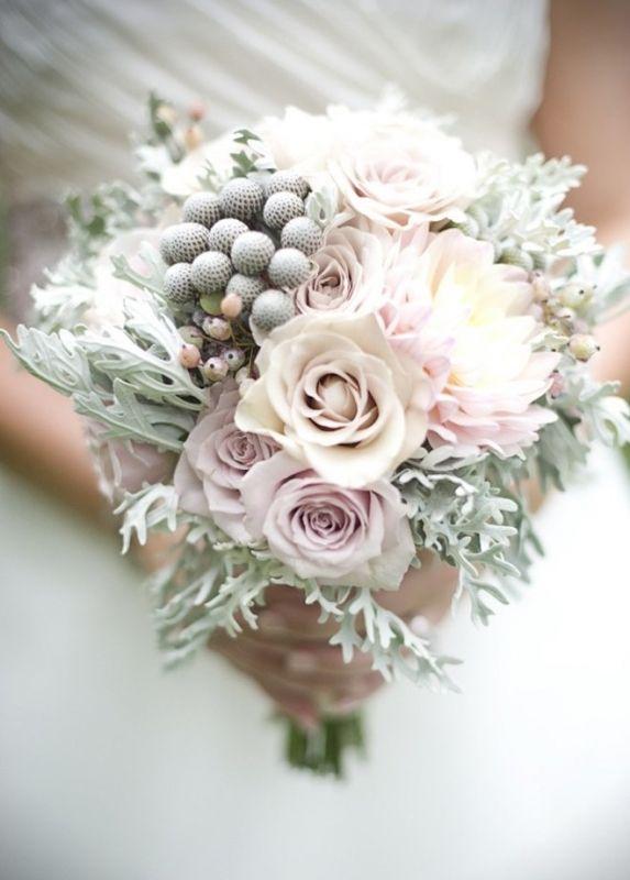 Идеальный букет для невесты: зимний вариант