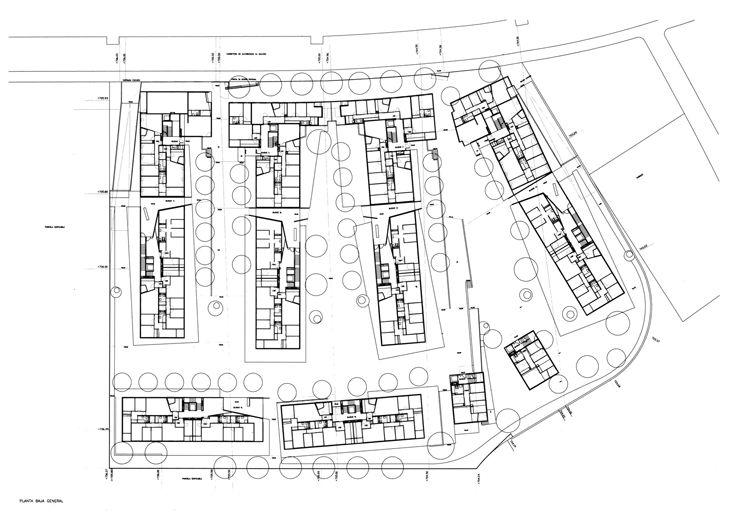 1672 - 198 Habitatges socials Alcobendas. Manuel de las Casas.