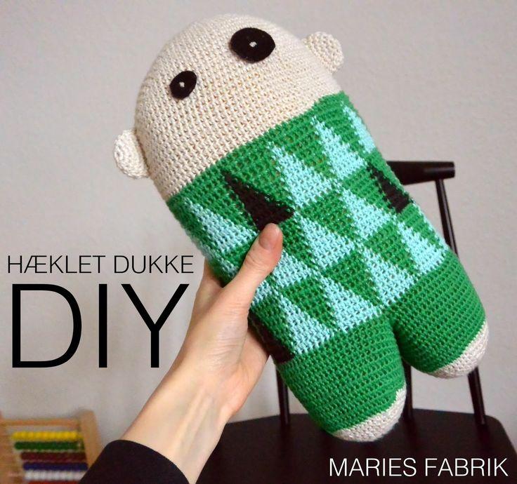 Maries Fabrik: DIY // Hæklet Dukke