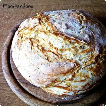 Buttermilchbrot im Topf